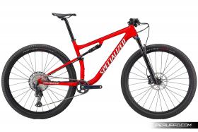 Specialized Epic Comp 2020 Rosso Lucido Perlato/Bianco Metallizzato Shimano SLX M7100 Specialized in lega